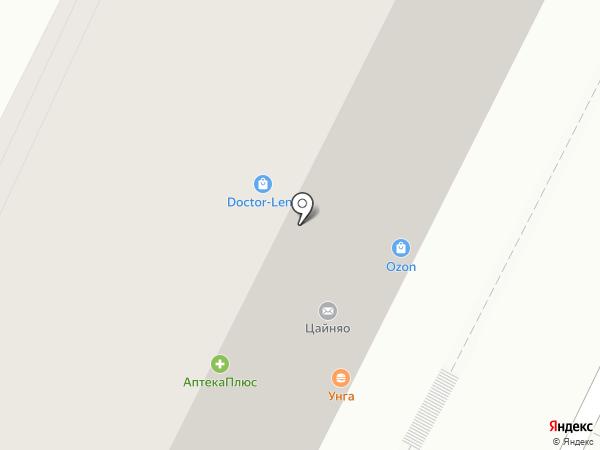 ЮНИЛАБ на карте Иркутска