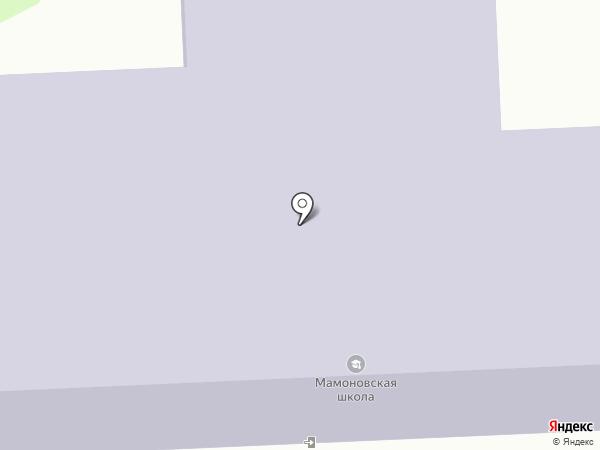 Средняя общеобразовательная школа на карте Мамон