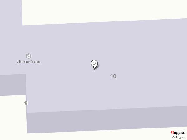 Детский сад комбинированного вида на карте Мамон