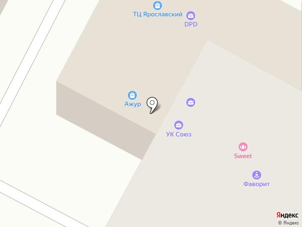 Феникс+ на карте Иркутска