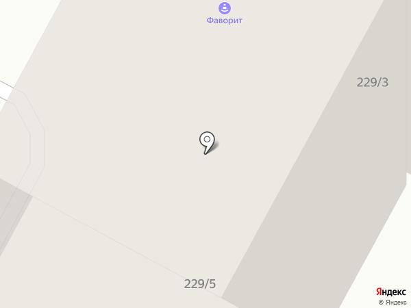 АМК Сан-Рема+ на карте Иркутска