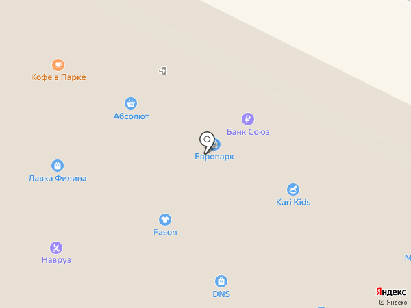 Много Мебели на карте Иркутска