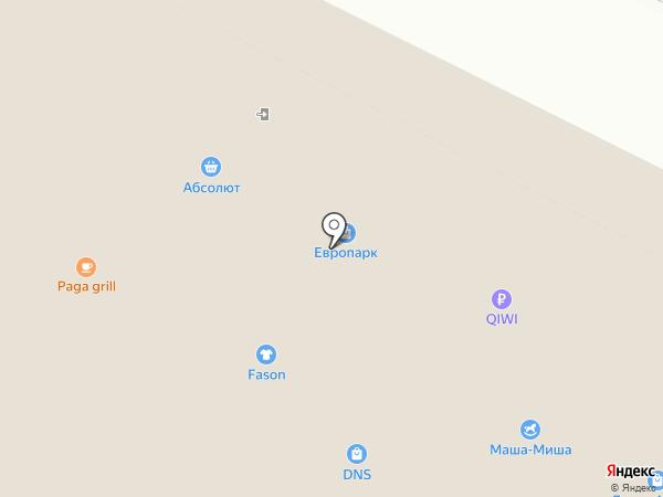 Магазин женская одежда на карте Иркутска
