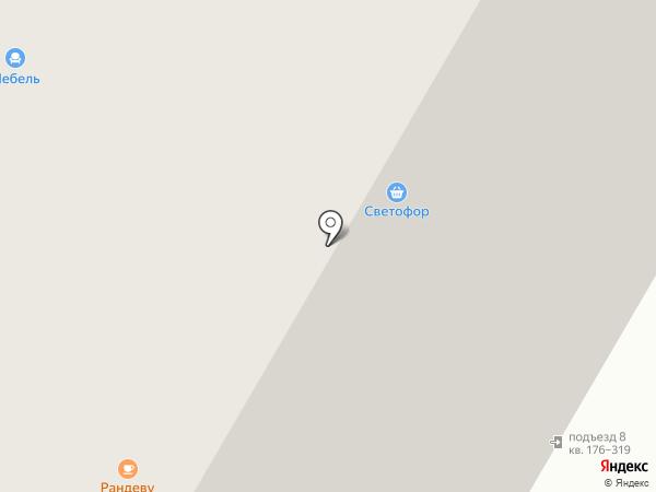 Велес на карте Иркутска