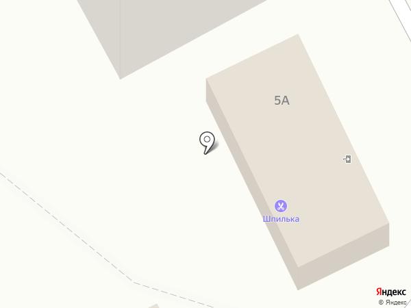 Шпилька на карте Марковой