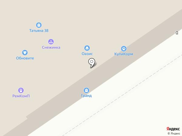 Феникс на карте Иркутска