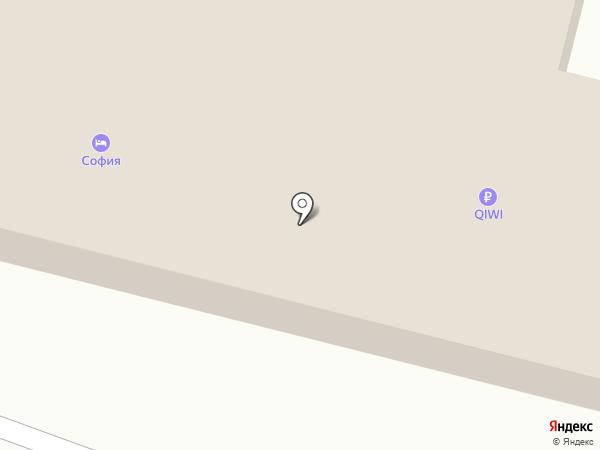 Новатор на карте Иркутска