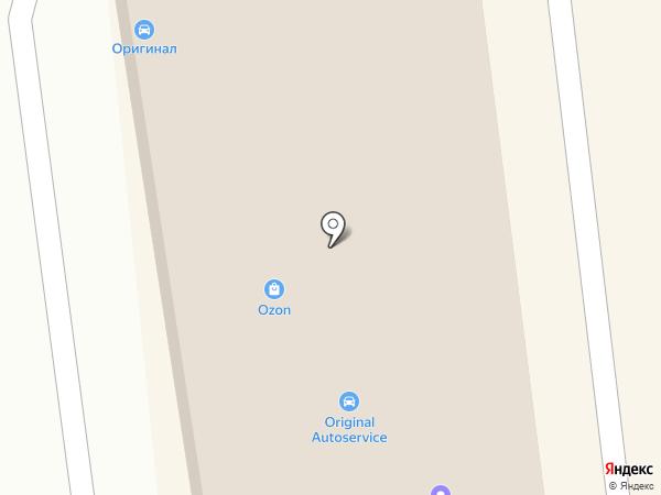 ОRИГИНАЛ на карте Иркутска