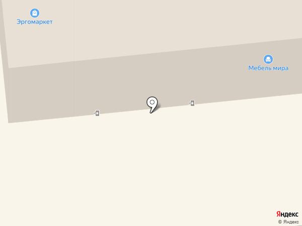 Лесенка на карте Иркутска