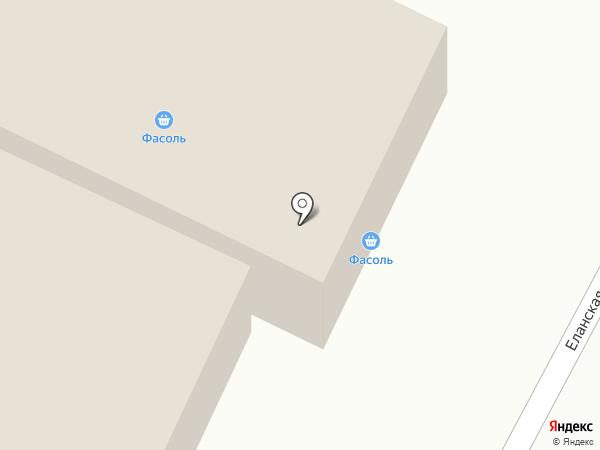 Продовольственный магазин на карте Иркутска