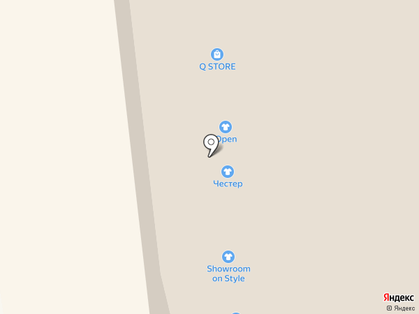 Chester на карте Иркутска