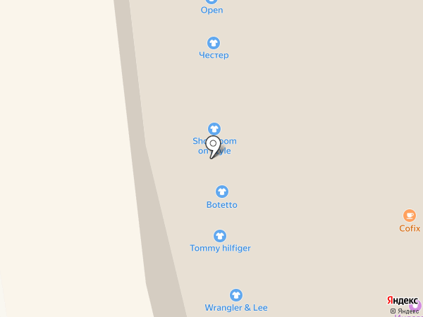 Levi`s на карте Иркутска