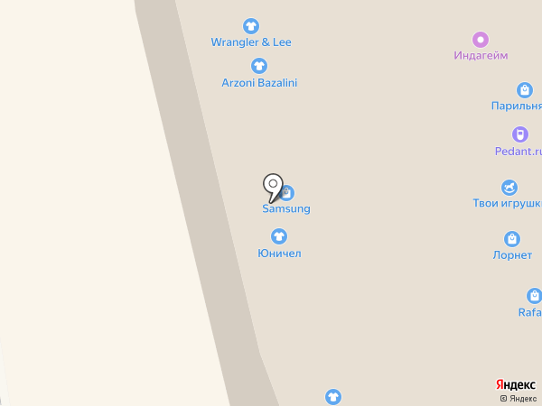 Samsung на карте Иркутска