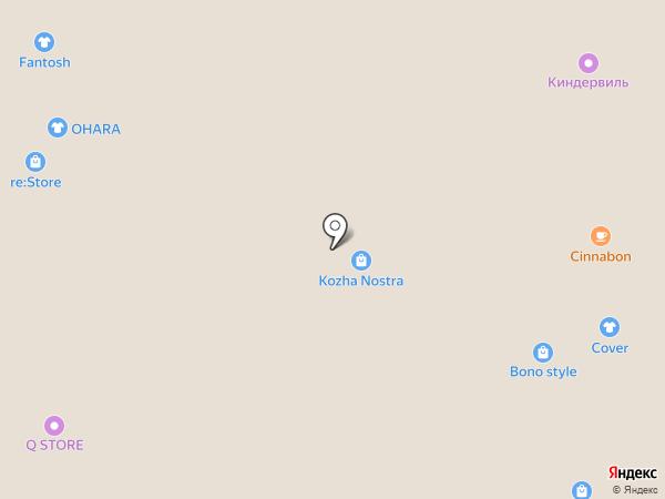 Карабин на карте Иркутска