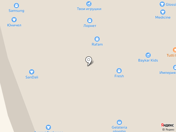 STEKLOFF на карте Иркутска