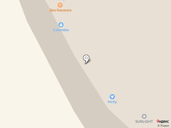 Антрекот на карте Иркутска