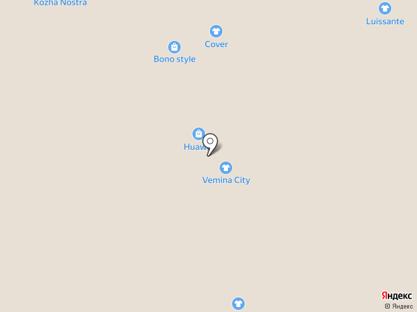 Vemina City на карте Иркутска