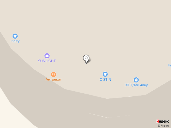 O`stin на карте Иркутска