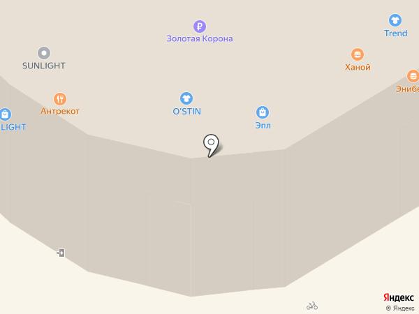 Билайн на карте Иркутска