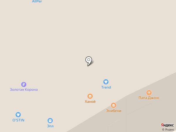 Trend Street на карте Иркутска