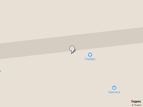 Гоу Шуз на карте Иркутска