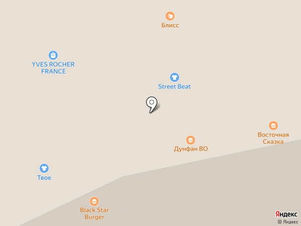 Дунфан во на карте Иркутска