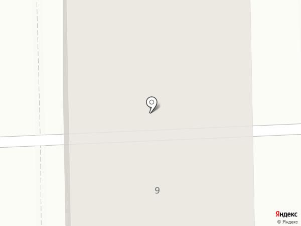 Белореченское на карте Марковой