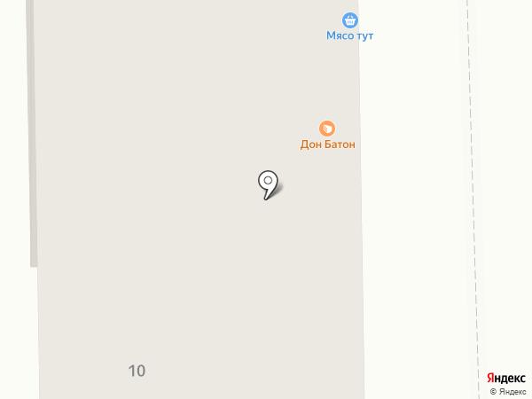 Дон Батон на карте Марковой