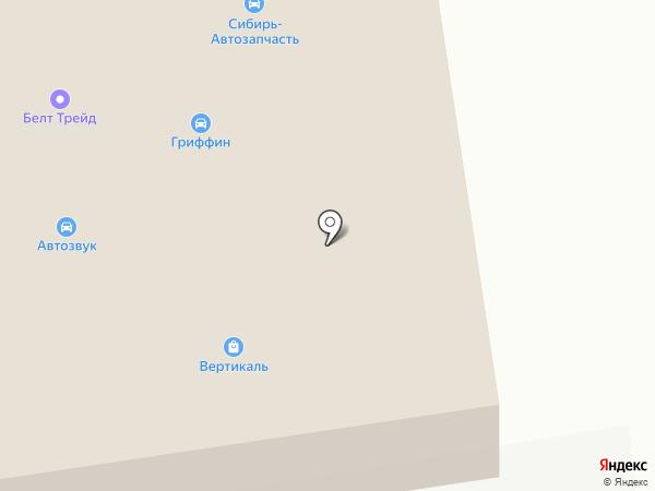 СмартТрак на карте Иркутска