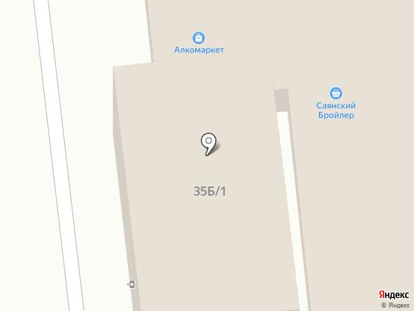 Алкомаркет на карте Иркутска