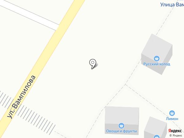 Торговая сеть на карте Иркутска
