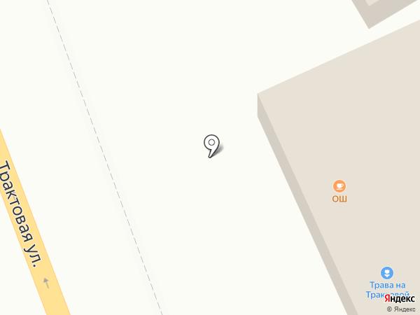 Шамели на карте Иркутска