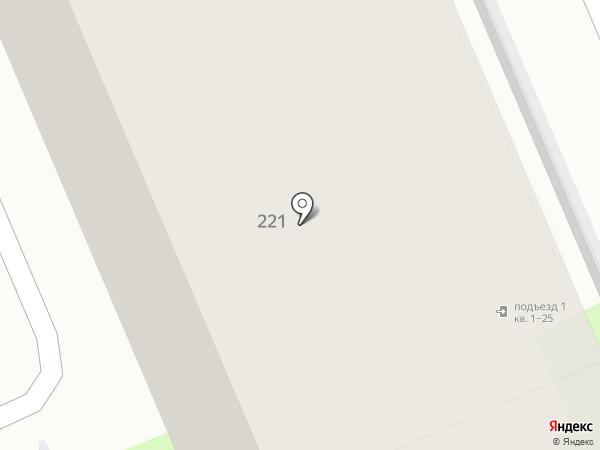 Березовый на карте Марковой