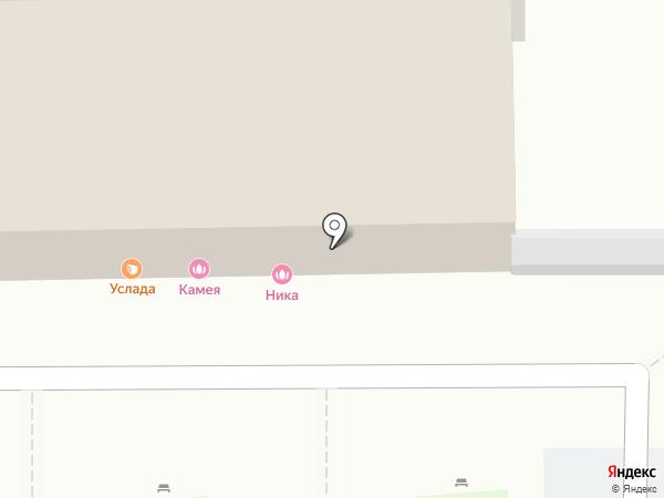 Милана на карте Иркутска