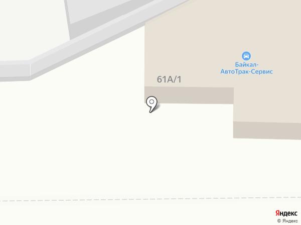 Колесо на карте Иркутска