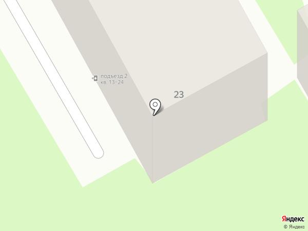 Автосеть на карте Марковой