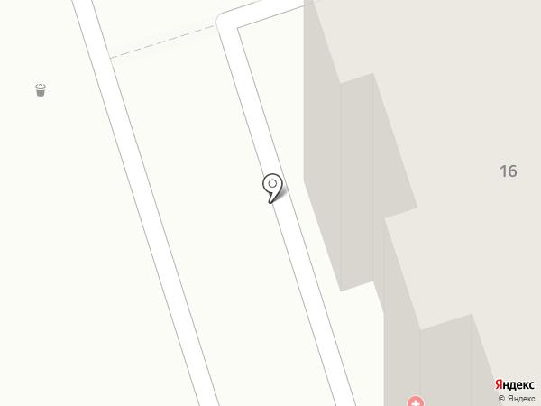 Художник на карте Иркутска