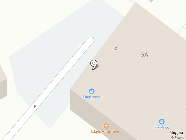 Глазурь на карте Марковой
