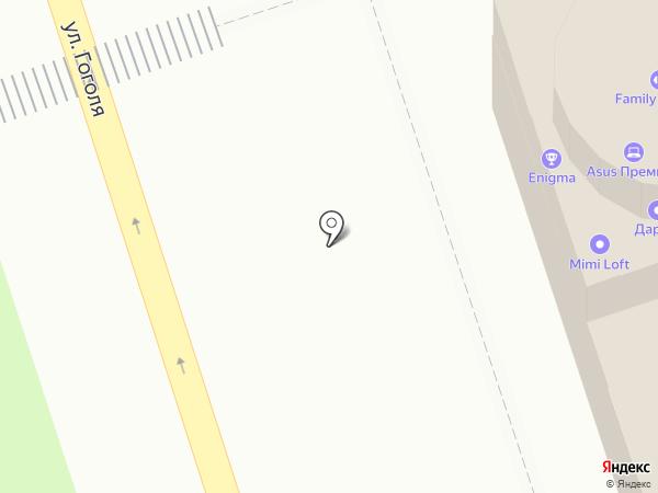 Енот на карте Иркутска