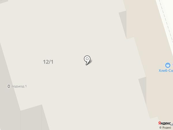 Хлеб Соль на карте Иркутска