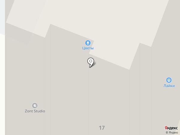 Хмельной бобер на карте Иркутска