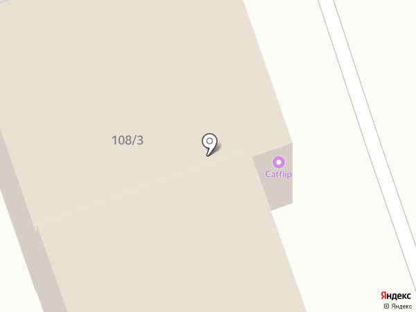 CATFLIP на карте Иркутска