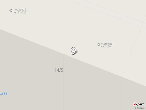 Жар-птица на карте Иркутска