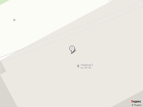 Клубный дом на Звездинской на карте Иркутска