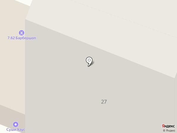 Hostel на карте Иркутска