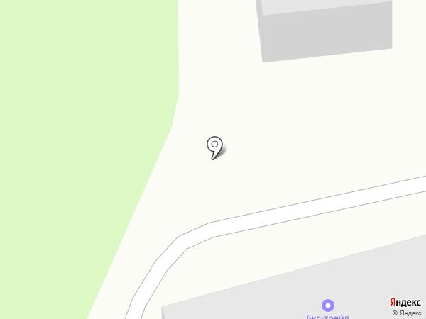 Стаксель на карте Иркутска
