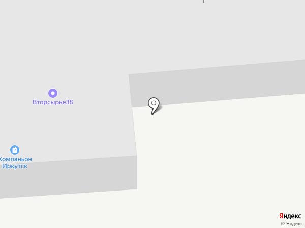 Фиш-Трейд на карте Иркутска