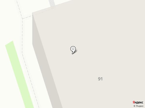 Академ на карте Иркутска