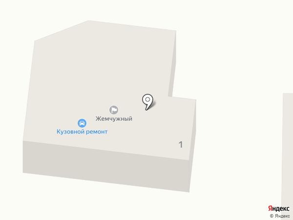 Жемчужный на карте Марковой