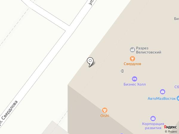 Мегаком на карте Иркутска
